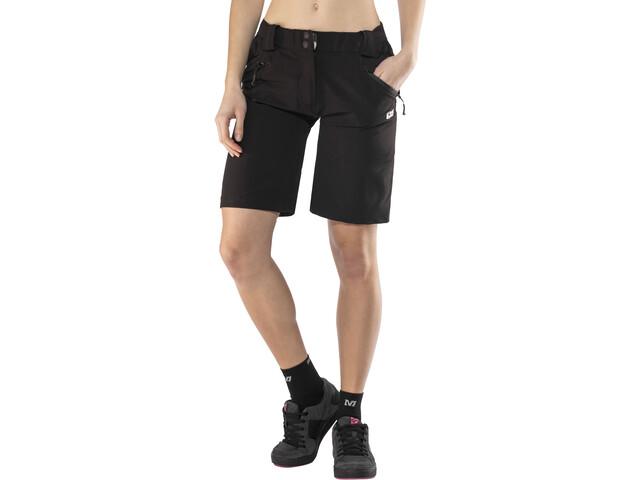 IXS Vapor 6.1 Trail Culotte corto sin tirantes Mujer, black